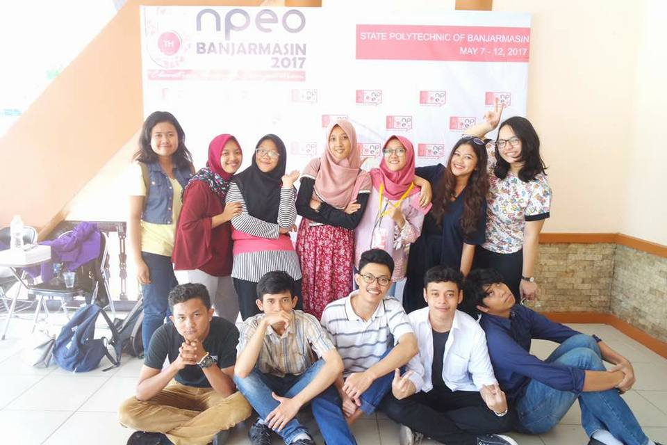 National Polytechnic English Olimpic at Banjar Masin Polytechnic, May 7 to 12, 2017